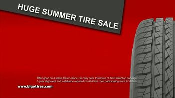 Big O Tires Buy Two Tires, Get Two Free Sale TV Spot, 'Four Tires for the Price of Two: No Date' - Thumbnail 5