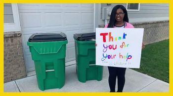 Glad TV Spot, 'Trash Day Thanks' - Thumbnail 4
