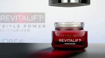L'Oreal Paris Revitalift Triple Power Moisturizer TV Spot, 'Don't Settle' Featuring Eva Longoria - Thumbnail 2