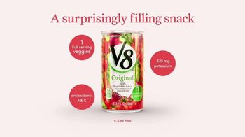 V8 Juice TV Spot, 'Surprisingly Filling'