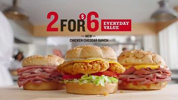 Arby's 2 for $6 Everyday Value Menu TV Spot, 'Classic Lifestyle' Song by YOGI - Thumbnail 7