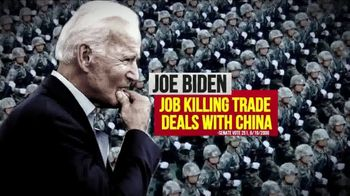 America First Action SuperPAC TV Spot, 'Joe Biden: Travel Ban'
