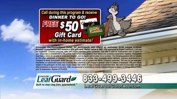LeafGuard of Colorado $99 Install Sale TV Spot, 'Give Up Gutter Cleaning Forever' - Thumbnail 9