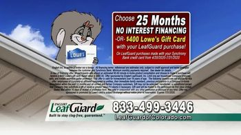 LeafGuard of Colorado $99 Install Sale TV Spot, 'Give Up Gutter Cleaning Forever' - Thumbnail 7