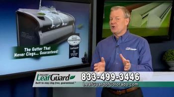 LeafGuard of Colorado $99 Install Sale TV Spot, 'Give Up Gutter Cleaning Forever' - Thumbnail 8