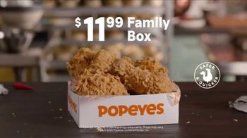 Popeyes Family Box TV Spot, 'Proud To Care For Yours: $11.99' - Thumbnail 7