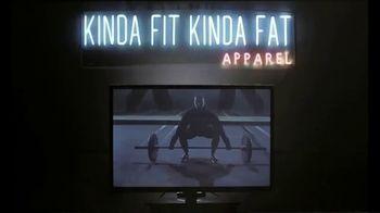 Kinda Fit Kinda Fat Apparel TV Spot, 'Fitness and Food' - Thumbnail 7