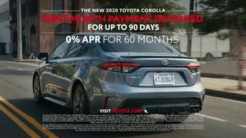 2020 Toyota Corolla TV Spot, 'The Pack' Song by Alex Britten, AX UX [T1] - Thumbnail 10