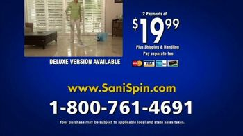Clean Police Sani-Spin TV Spot, 'The Next Generation of Mopping' - Thumbnail 9