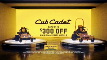 Cub Cadet Ultima Series TV Spot, 'Step Up to the Ultimate All-Around Mowing Experience ' - Thumbnail 8