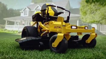 Cub Cadet Ultima Series TV Spot, 'Step Up to the Ultimate All-Around Mowing Experience '