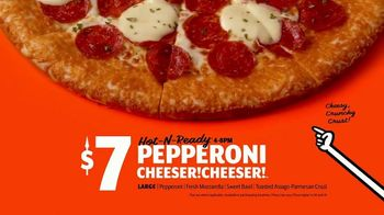 Little Caesars Pizza Pepperoni Cheeser! Cheeser! TV Spot, 'You Got What I Like: Free Delivery' - Thumbnail 9