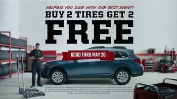 Big O Tires TV Spot, 'Tire Leak: Buy Two, Get Two Tires Free' - Thumbnail 7