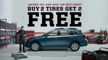 Big O Tires TV Spot, 'Tire Leak: Buy Two, Get Two Tires Free' - Thumbnail 6