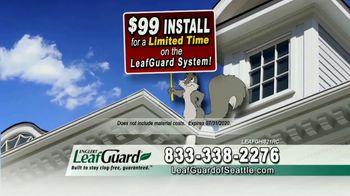 LeafGuard of Seattle $99 Install Sale TV Spot, 'Doctor's Advice' - Thumbnail 8