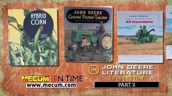 Mecum On Time TV Spot, 'John Deere Literature Collection: Part Two' - Thumbnail 2