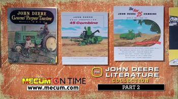 Mecum On Time TV Spot, 'John Deere Literature Collection: Part Two' - Thumbnail 3
