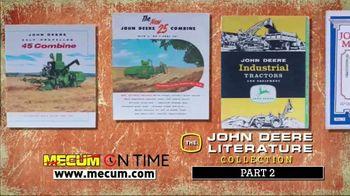 Mecum On Time TV Spot, 'John Deere Literature Collection: Part Two' - Thumbnail 4