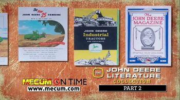 Mecum On Time TV Spot, 'John Deere Literature Collection: Part Two' - Thumbnail 5