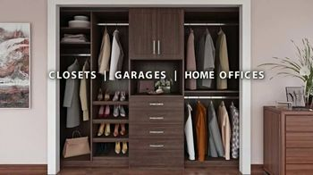 Closets by Design TV Spot, 'Totally Organized: 40 Percent Off in May'