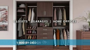 Closets by Design TV Spot, 'Totally Organized: 40 Percent Off in May' - Thumbnail 2