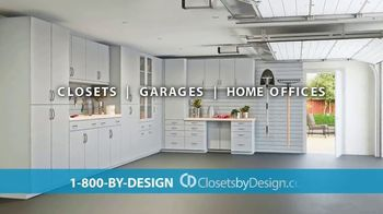 Closets by Design TV Spot, 'Totally Organized: 40 Percent Off in May' - Thumbnail 3