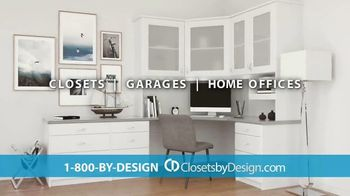 Closets by Design TV Spot, 'Totally Organized: 40 Percent Off in May' - Thumbnail 7