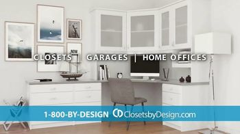 Closets by Design TV Spot, 'Totally Organized: 40 Percent Off in May' - Thumbnail 8