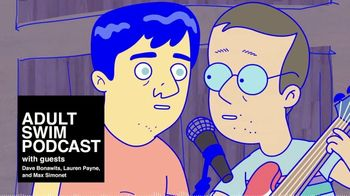 Adult Swim Podcast TV Spot, 'Dave Bonawits, Lauren Payne and Max Simonet'