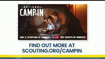 Boy Scouts of America TV Spot, 'National Camp In' - Thumbnail 9