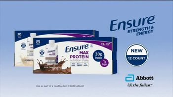 Ensure Max Protein TV Spot, 'More Protein, Less Sugar: 12-Count' - Thumbnail 10