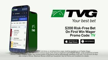 TVG Network TV Spot, 'Bet the Next Race: $200 Risk-Free Bet' - Thumbnail 8