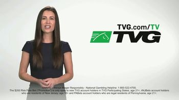 TVG Network TV Spot, 'Bet the Next Race: $200 Risk-Free Bet' - Thumbnail 7