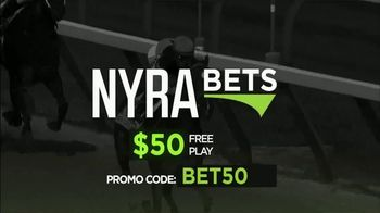 NYRA Bets TV Spot, 'Watch Live From Anywhere: $50 Free Play' - Thumbnail 7