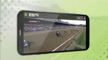 NYRA Bets TV Spot, 'Watch Live From Anywhere: $50 Free Play' - Thumbnail 1