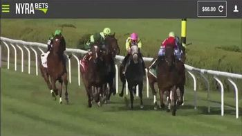 NYRA Bets TV Spot, 'Watch Live From Anywhere: $50 Free Play' - Thumbnail 2