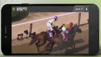 NYRA Bets TV Spot, 'Watch Live From Anywhere: $50 Free Play' - Thumbnail 3