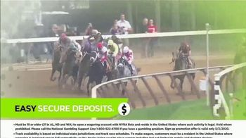 NYRA Bets TV Spot, 'Watch Live From Anywhere: $50 Free Play' - Thumbnail 5