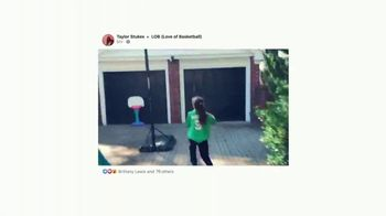 Facebook TV Spot, 'Love of Basketball' Song by Skee-Lo - Thumbnail 3