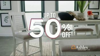 Ashley HomeStore Memorial Day Sale TV Spot, 'Up to 50 Percent Off: Sofa, Dining Set and Doorbusters' - Thumbnail 3
