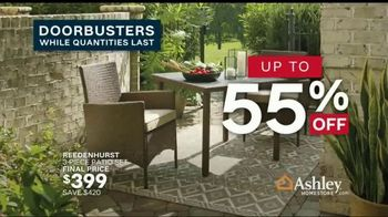 Ashley HomeStore Memorial Day Sale TV Spot, 'Up to 50 Percent Off: Sofa, Dining Set and Doorbusters' - Thumbnail 8