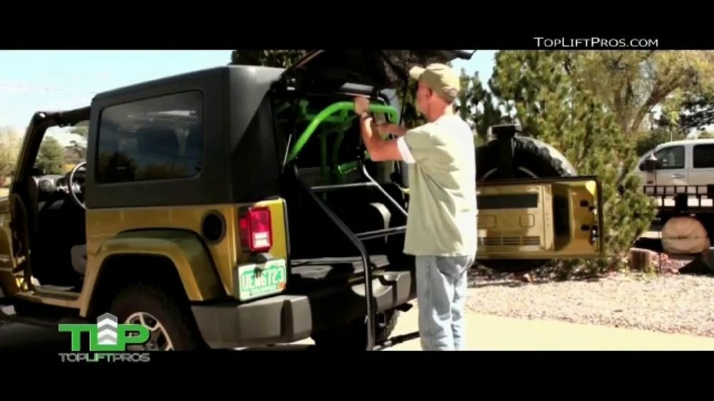 Top Lift Pros Jeep Hard Top Removal Tool TV Commercial, 'No Hassle'