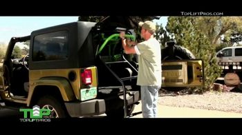 Top Lift Pros Jeep Hard Top Removal Tool TV Spot, 'No Hassle' - Thumbnail 4