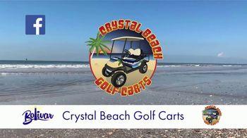 Bolivar Peninsula Tourism and Visitors Center TV Spot, 'Crystal Beach Golf Carts' - Thumbnail 5