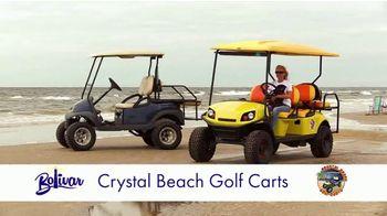Bolivar Peninsula Tourism and Visitors Center TV Spot, 'Crystal Beach Golf Carts' - Thumbnail 4