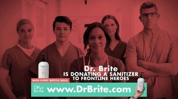 Dr. Brite Naturals Protect Hand Sanitizer TV Spot, 'Donation to Heroes'