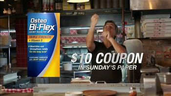Osteo Bi-Flex TV Spot, 'Pizza: $10 Coupon'