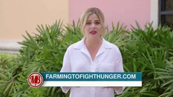 Farming To Fight Hunger TV Spot, 'Food Insecurity' Featuring Madison Brown - 55 commercial airings