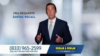Morgan & Morgan Law Firm TV Spot, 'Zantac Lawsuit' - Thumbnail 3