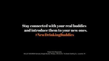 Bulleit Bourbon Frontier Whiskey TV Spot, 'New Drinking Buddies' - Thumbnail 8